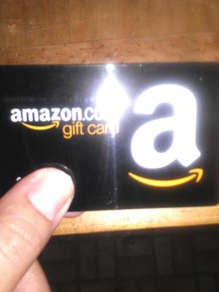 Amazon gift card $7.53