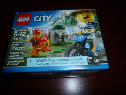 New Lego City Off Road Chase 60170