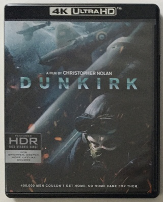 Dunkirk (4K Ultra HD / Blu-ray 3-Disc Set - Mint Discs!