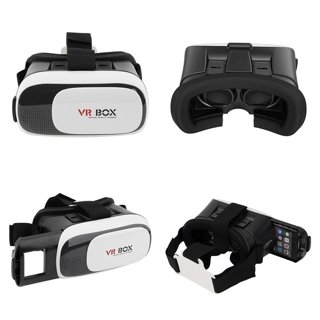 Virtual Reality Headset Goggles Version 3D VR Glasses with Adjustable Strap for 3.5-6""