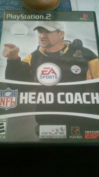 Ps2 head coach nfl game
