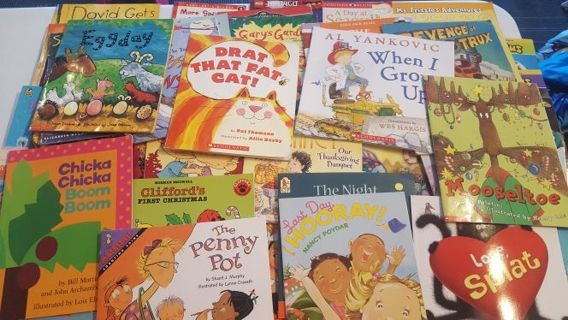 75+ Children's Books! Perfect for ages 4-8 ***GIN FOR 100 BOOKS***