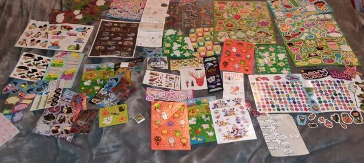 Over 1,000 stickers!!!