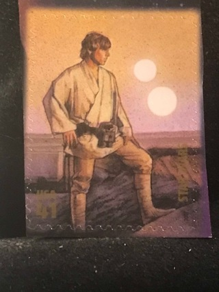 US #4143e MNH Luke Skywalker Star Wars