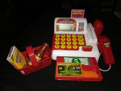 CASH REGISTER=FREE Shipping and TRACKING