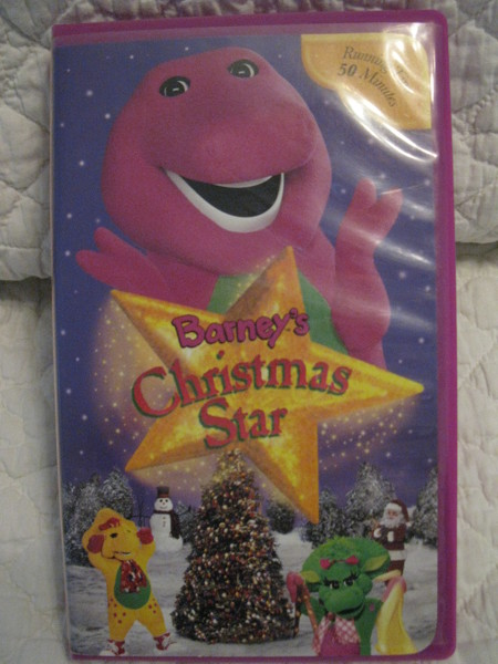 Free Barney S Christmas Star Vhs Vhs Listia Com