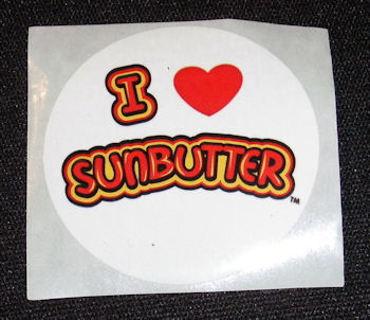 I love Sunbutter Sticker