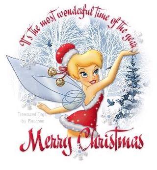 Christmas Tinkerbell.Free 30 Christmas Tinkerbell Address Labels 2 5 8 X 1