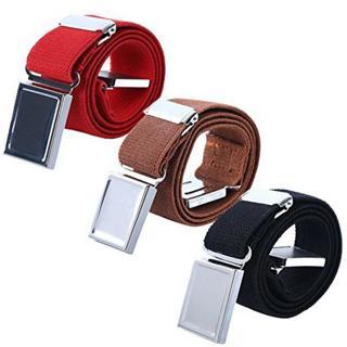 Baby Boy Kids Magnetic Buckle Belt Adjustable Elastic Canvas Children's Belts