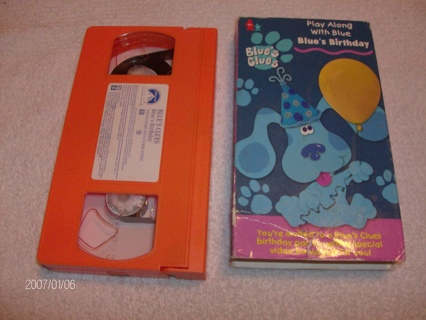 Free Blues Clues Vhs Movie Blues Birthday Other Dvds Movies