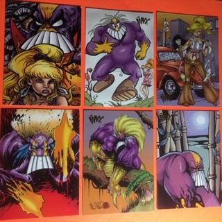 The Maxx! 1996! 6 cards!