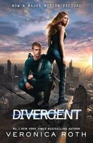 (NEW) DIVERGENT SERIES #1: DIVERGENT byVeronica Roth(HB/DJ-1st ED) #LLP33JH