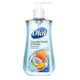 ⭐1 BOTTLE DIAL COCONUT WATER & MANGO 7.5 OZ HAND SOAP WITH PUMP⭐