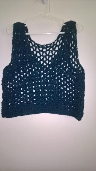 Crochet small vest