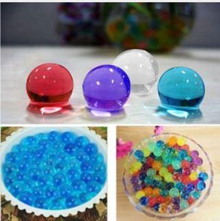 Creative Plant Decor 500 pcs Magic Plant Flower Crystal Mud Soil Balls Water Beads Pearl Balls
