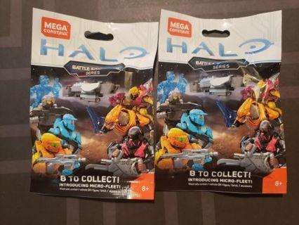 2 Halo MegaConstrux Figures