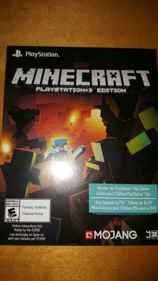 free minecraft download ps vita