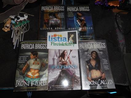 Patrica Briggs 5 book set
