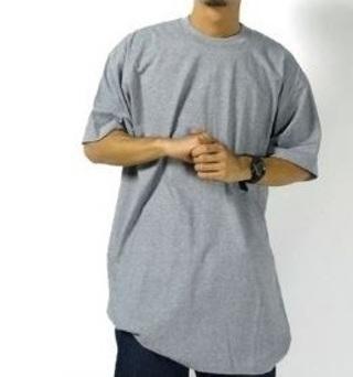 NEW Menswear long T-shirt Street shirt long Top length long lines Curved Base