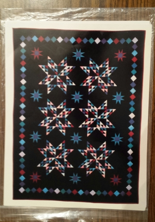 Free Amish Sparkle Star Quilt Pattern Sewing Listia