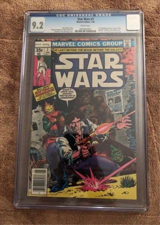 Star Wars marvel comics 1978 #7 CGC