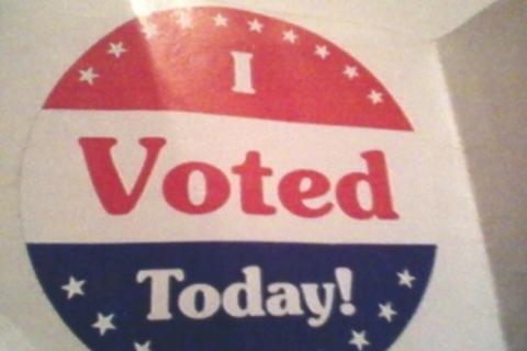 "New! Sticker ""I Voted Today!"""