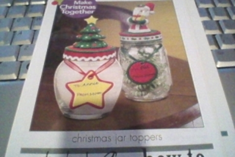 Instructional on making Jar toppers