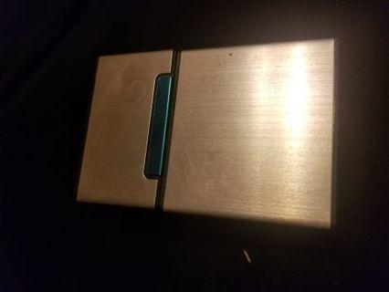 Pink cigarette case