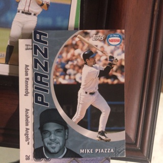 Mike Piazza 2001 Nestle insert Mets