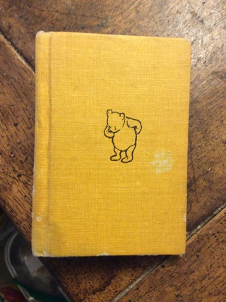 "*ANTIQUE MINIATURE BOOK*""POOH GOES VISITING (AND GETS INTO A TIGHT PLACE)""*ANTIQUE MINIATURE BOOK*"