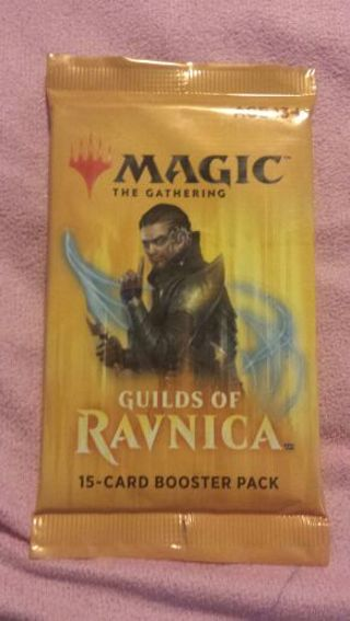 BRAND NEW MAGIC THE GATHERING GUILDS OF RAVNICA 15 CARD BOOSTER PACK