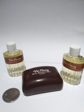 2 Ho Hang Balenciaga Eau De Toilette 90• For Man and mini soap