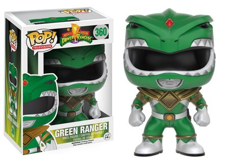NEW Funko Pop Power Rangers The Green Ranger Action Figure Vinyl Toy FREE SHIPPING