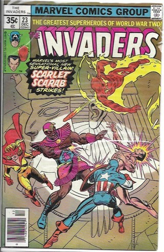 The Invaders #23 Marvel Comics Group