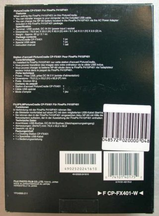 Fujifilm Picture Cradle PictureCradle CP-FX401 - NEW