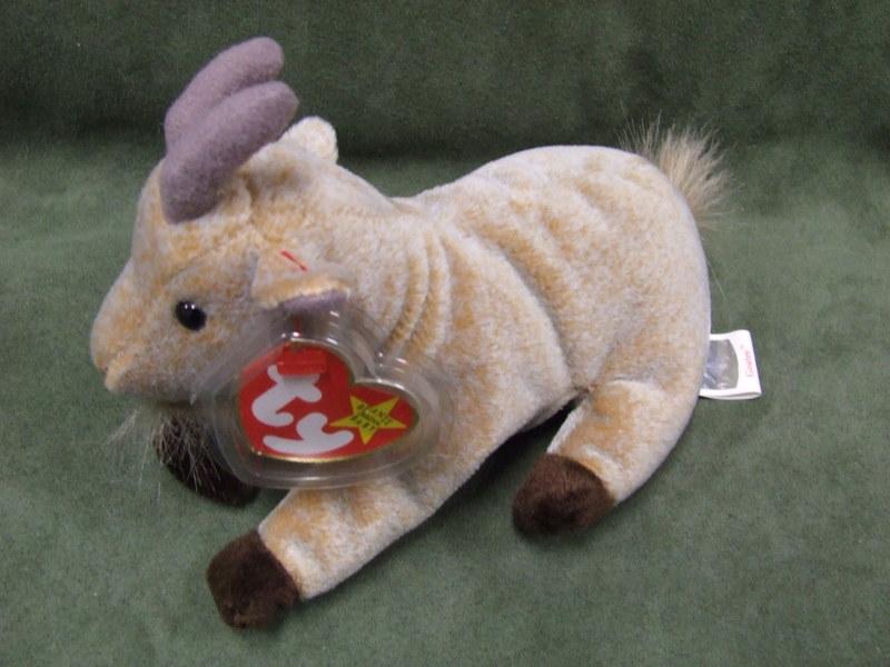 Free  TY Original Beanie Babies Goatee the Goat - Dolls   Stuffed ... 002873cdd3f