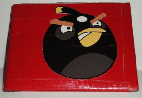 Free Crazy Cool Hand Made Red Angry Birds Duct Tape