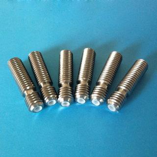 5 PCS M6x26mm Nozzle Throat for 3D Printer Extruder 1.75mm Makerbot Reprap New