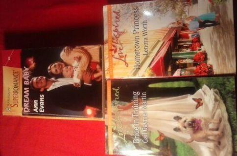 Three Romance Books