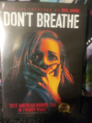 DON'T BREATHE DVD FACTORY SEALED