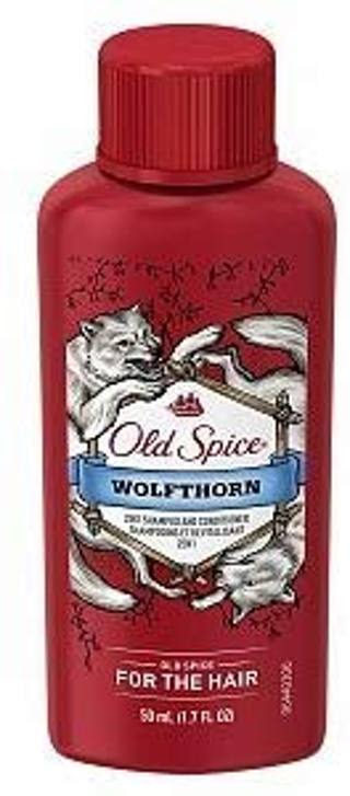 BRAND NEW Men's Old Spice Wolfthorn 2-in-1 Shampoo and Conditioner, 1.7 fl oz