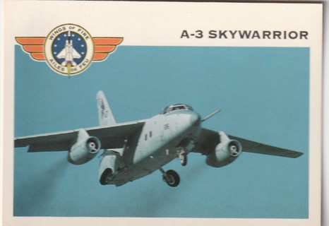 Vintage Collector Card: Wings of Fire: A-3 Skywarrior