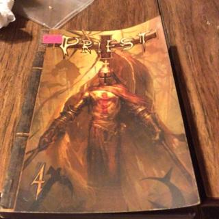 Priest graphic novel