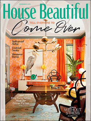 Lowered GIN! HOUSE BEAUTIFUL Magazine TWO Year (20 issues) Subscription