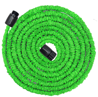 Junredy 25ft Water Hose,8.3ft Before Water Injection,Expandable Garden Hose