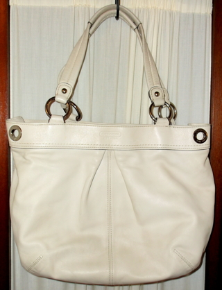Free  AUTHENTIC COACH KYRA Soft Leather Tote Creed is G0982-F13556 ... 82825099d934b