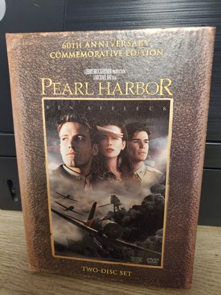 "DVD - ""Pearl Harbor"" - rated PG-13"