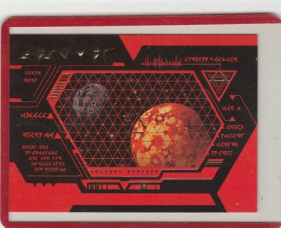 Skybox Star Trek TNG SP3 Foil Embossed Language Card NM-Mint condition
