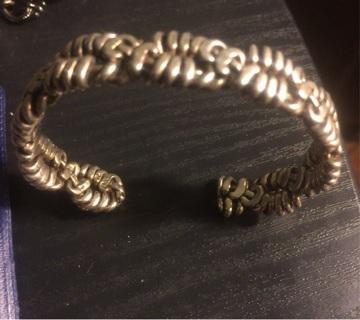 40 gm Vintage Sterling Bracelet