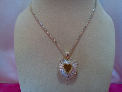 *~* Heart Necklace `*~*